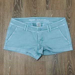 Mossimo Supply Co. Mint Green Shorts - Size 4
